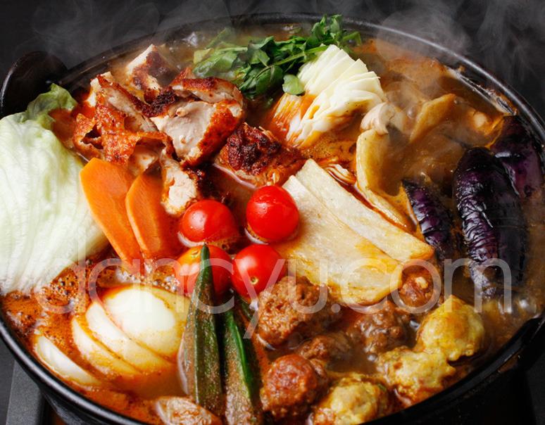 インド料理レストラン HATTI カレー鍋 4人前の写真