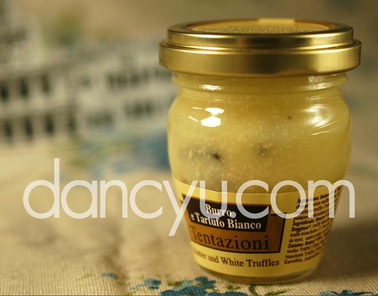 アクアラーニャ産白トリュフ入りバター 45g の写真