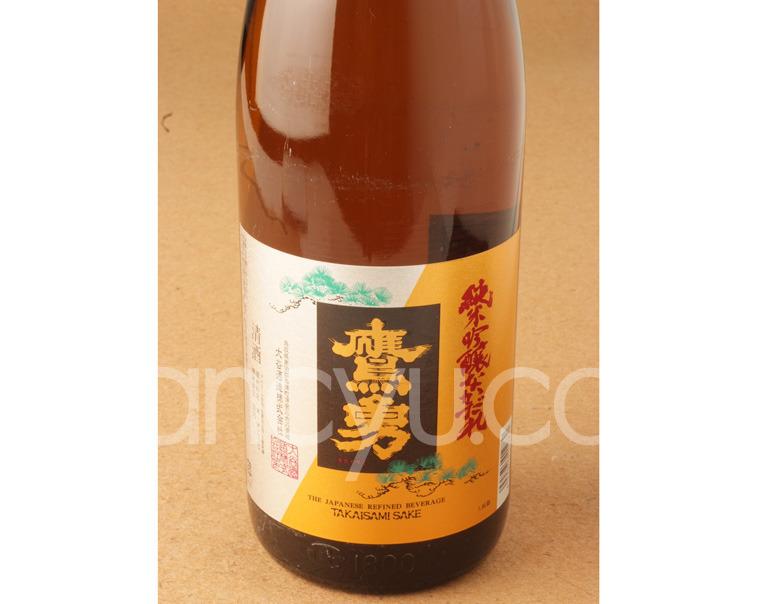 鷹勇純米吟醸なかだれ(720ml)の写真