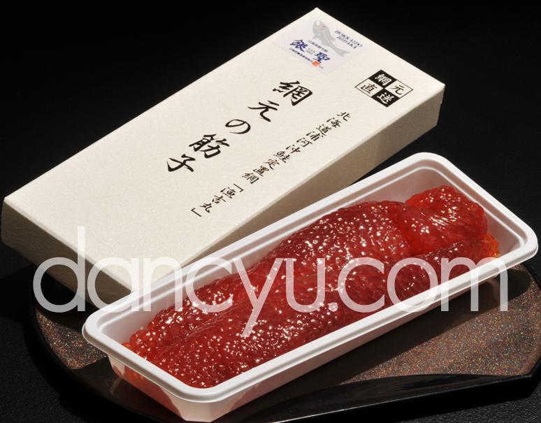 『銀聖すじこ』 北海道日高沖産 450g プラ容器化粧箱入り ※冷凍の写真