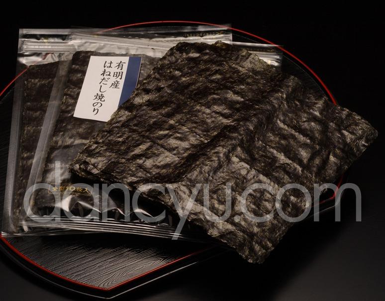 有明産 初摘み はねだし 焼き海苔 全形10枚×6袋の写真