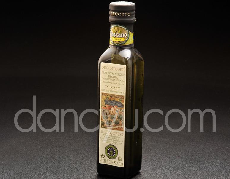無農薬栽培オリーブ使用 イル・レッチェートのEXバージンオリーブオイル(229g)の写真