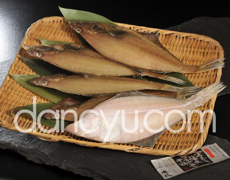 日本海西部産 エテカレイの一夜干し 特大5枚(約28cmサイズ) ※冷凍の写真