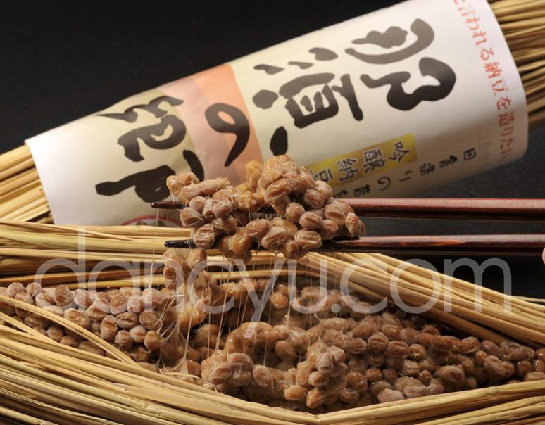 天然わら納豆 吟醸納豆 那須の郷(なすのさと) 300g×1本の写真
