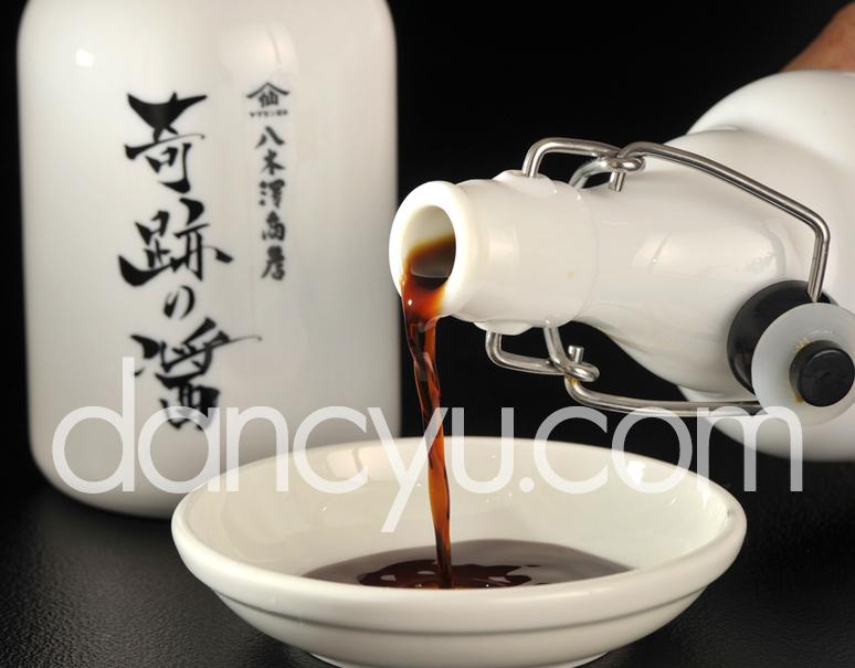 岩手・八木澤商店の醤油 『奇跡の醤(ひしお)』500ml×2本の写真