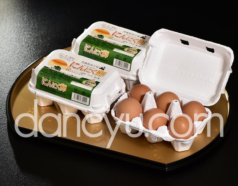 田子たまご村 「にんにく卵」 6個×3(計18個)の写真