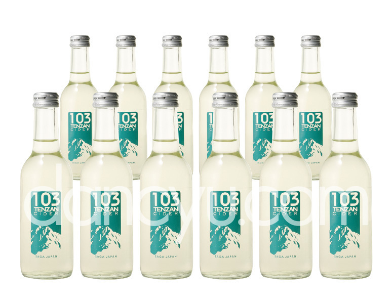 103サイダー(テンザンサイダー) 1箱(12本入り)の写真