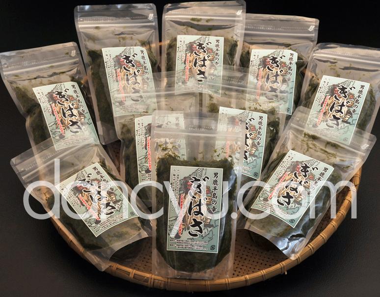 三高水産の『ぎばさ』 秋田県男鹿半島産 10袋セット(1袋200g)※冷凍の写真