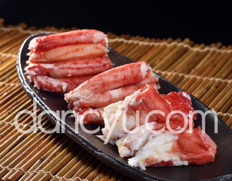 『イバラガニ調理用セット』 北海道網走産 計300g 脚肉100g(6〜10本)2袋、肩肉100g(4〜7個)1袋 ※冷凍の写真