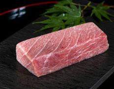 延縄漁で獲った224kgの大間本マグロ!中トロ 大トロのサクをお買い得価格でご提供!