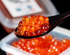便利な小分けパック登場!活の銀毛鮭「銀聖」から取り出した卵で作る究極のいくらと筋子